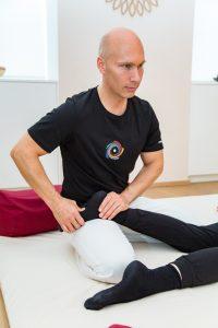 Shiatsu Massage der Füsse